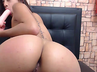 Latin Chick free anal show so unfathomable