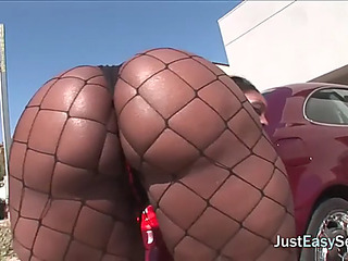 Dark whore with giant ahole has hawt anal