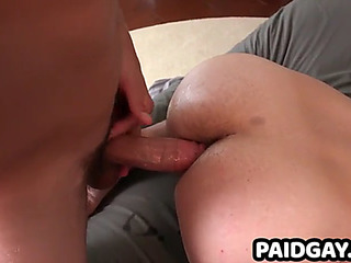 Str8 uncut dude acquires screwed by hunk with large knob